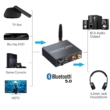 2 az 1-ben DAC Bluetooth audio vevő és Digitális - Analóg átalakító, 192Khz