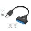 """USB 3.0 - 2.5"""" SATA kábel HDD átalakító adapter"""