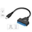 """USB-C/SATA átalakító, USB c SATA adpter, 2.5"""" HDD/SSD"""