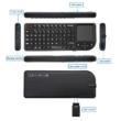 Ultra mini Vezeték nélküli érintőpados billentyűzet, távirányító okos tévékhez