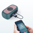 2 az 1-ben Bluetooth 5.0 audio adó-vevő adapter LCD kijelzővel