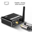 3 az 1-ben Bluetooth 5.0 audio vevő, DAC digitális analóg átalakító, USB Mp3 lejátszó