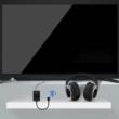 2 az 1-ben Bluetooth 4.2 audio Adó és külső bluetooth adó hangkártya optikai és 3,5mm Jack hang bemenettel