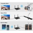 B2 Nagy hatótávolságú Bluetooth 5.0 audio adó-vevő, Multiconnect