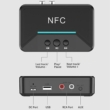 Bluetooth 5.0 audio vevő adapter NFC-vel