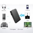 J20 Bluetooth 5.0 audio vevő adapter, beépített mikrofonnal, Multiconnect