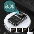 4 az 1-ben Bluetooth 5.0 audio adó-vevő, FM transmitter, Mp3 lejátszó, LCD kijelző, beépített mikrofon