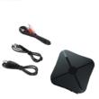 2 az 1-ben Bluetooth adó/vevő adapter, Bluetooth 4.2, hifirendszerekhez, autó hifikhez, tévékhez