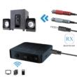 Bluetooth 5.0 audio adó-vevő adapter RX - TX mód, audio eszközökhöz