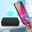 Bluetooth 5.0 audio vevő adapter NFC-vel, USB bemenettel, MP3 lejátszó