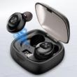 Bluetooth 5.0 Vezeték nélküli fülhallgató, zajcsökkentővel, töltődobozzal, fekete