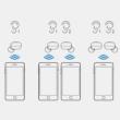 Bluetooth 5.0 Vezeték nélküli fülhallgató, zajcsökkentővel és ergonomikus kialakítással