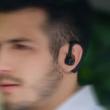 V9 Bluetooth 5.1 vezeték nélküli fejhallgató, headset, két telefon csatlakozás egy időben