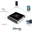 Bluetooth 5.0 2x50W + 100W Digitális 2.1 csatornás erősítő, audió bemenettel