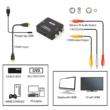 Hdmi - 2AV RCA adapter átalakító konverter 1080P