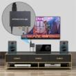 HDMI ARC audio leválasztó, 192Khz, digitális és analóg hang kimenet