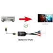 HDMI - RGB Komponens átalakító adapter YpbPr, 1080P