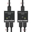 2 portos HDMI switch, bidirekcionális, passzív 4k