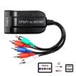 Komponens (YPbPr) - HDMI átalakító, 1080P Xbox 360, PS2, DVD - HDMI bemenetű tévékhez, projektorokhoz