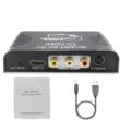 3 az 1-ben SCART/AV/SV - HDMI átalakító adapter, HDMI-s tévékhez, projektorokhoz, monitorokhoz