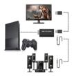 PS1, PS2 - HDMI átalakító adapter, 480i, 480p, 576i, PlayStation 2