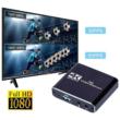 HDMI Videokártya, Audio Ki- és Bemenettel, 4K - HD 1080P, 30/60FPS, USB 3.0, Videoátvitelhez, Élő Közvetítéshez, PS3 / 4 Konzolok, Xbox One és Xbox 360, Switch, DSLR vagy Videokamerák