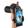 Univerzális mobiltelefon-tartó okulárra, távcsövekhez, átmérő 28 - 47 mm, telefontartó 55-91 mm