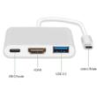 TYPE-C - HDMI átalakító adapter, 4K