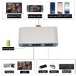 Usb C Hub, Usb C HDMI adapter, USB 3.0, Usb C és HDMI port