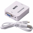 VGA - HDMI átalakító adapter, 1080P, VGA + audio jel HDMI konverter