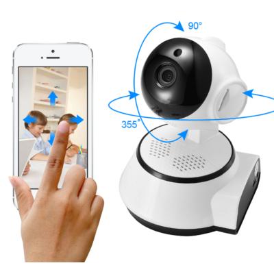 WIFI-s IP kamera, mozgásérzékelő, éjjellátó infra, 720P, iCsee mobil applikáció