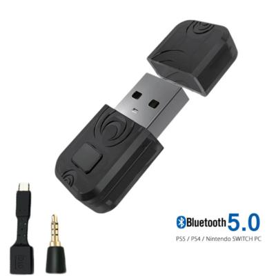 PlayStation 5 bluetooth adó adapter, PS5/PS4/PC/Nintendo SWITCH, Bluetooth 5.0 aptX