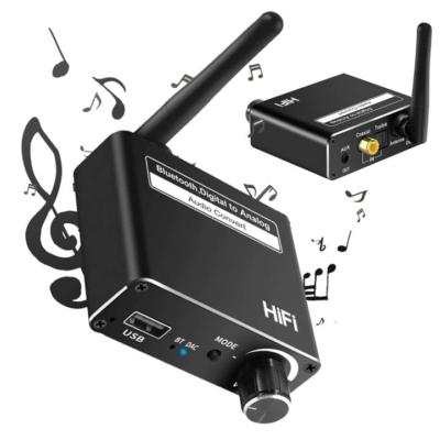 D18 Bluetooth 5.0 audio vevő, Digitális analóg átalakító, Mp3 lejátszó