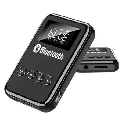 Bluetooth5.0 audio adó-vevő, FM transmitter, Mp3 lejátszó, LCD kijelző