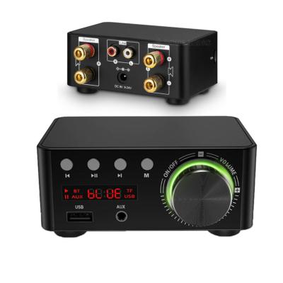 Digitális erősítő, 2x50W, Bluetooth 5.0, USB bemeneti port