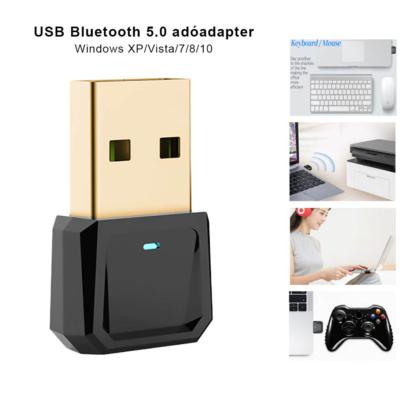 USB Bluetooth5.0 adó adapter pc-hez, kapcsolódás bluetooth eszközökhöz